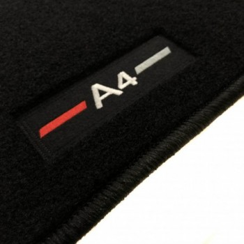 Alfombrillas Audi A4 B5 Sedán (1995 - 2001) a medida logo