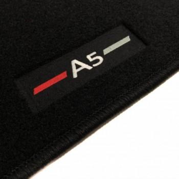 Alfombrillas Audi A5 F53 Coupé (2016 - actualidad) a medida logo