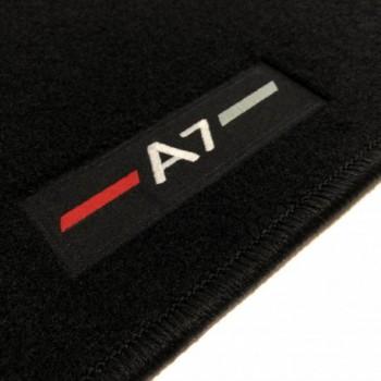 Alfombrillas Audi A7 a medida logo (2010-2017)