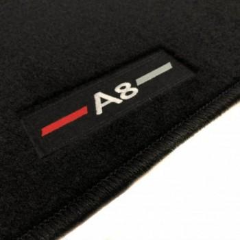 Alfombrillas Audi A8 D3/4E (2003-2010) a medida logo