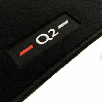 Alfombrillas Audi Q2 a medida logo