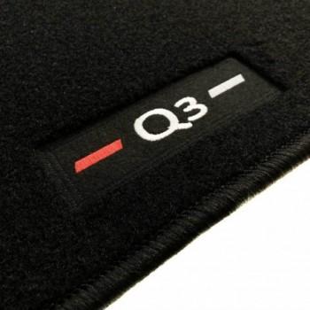 Alfombrillas Audi Q3 a medida logo (2011-2018)
