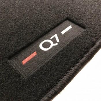 Alfombrillas Audi Q7 4M 7 plazas (2015 - actualidad) a medida logo