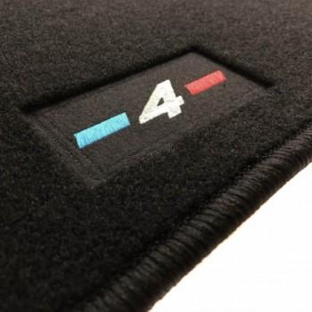 Alfombrillas BMW Serie 4 F36 Gran Coupé (2014 - actualidad) a medida logo