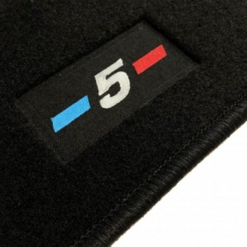 Alfombrillas BMW Serie 5 F10 Berlina (2010 - 2013) a medida logo