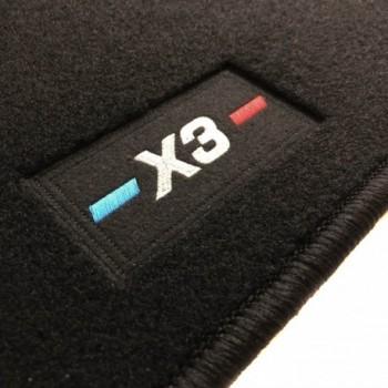 Alfombrillas BMW X3 G01 (2017 - actualidad) a medida logo