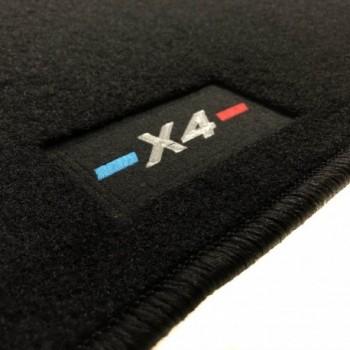 Alfombrillas BMW X4 a medida logo (2014-2018)