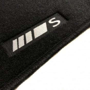 Alfombrillas Mercedes Clase S A217 Cabrio (2014 - actualidad) a medida logo