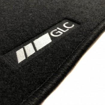 Alfombrillas Mercedes GLC C253 Coupé (2016 - actualidad) a medida logo