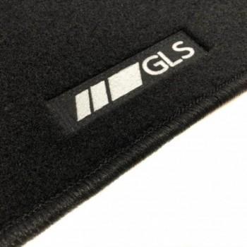 Alfombrillas Mercedes GLS X166 5 plazas (2016 - actualidad) a medida logo