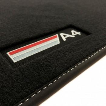 Alfombrillas Audi A4 B7 Avant (2004 - 2008) Velour logo