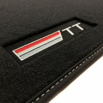 Alfombrillas Audi TT 8S (2014 - actualidad) Velour logo