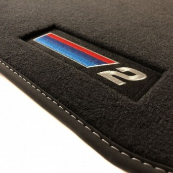 Alfombrillas BMW Serie 2 F46 5 asientos (2015 - actualidad) Velour M Competition