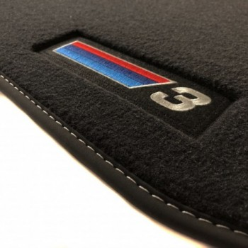 Alfombrillas BMW Serie 3 GT F34 Restyling (2016 - actualidad) Velour M Competition