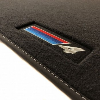 Alfombrillas BMW Serie 4 F36 Gran Coupé (2014 - actualidad) Velour M Competition