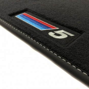 Alfombrillas BMW Serie 5 F10 Restyling Berlina (2013 - 2017) Velour M Competition