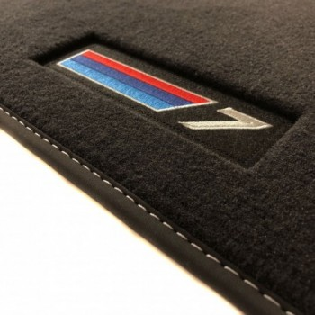 Alfombrillas BMW Serie 7 G12 largo (2015-actualidad) Velour M-Competition