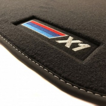 Alfombrillas BMW X1 F48 (2015 - 2018) Velour M Competition