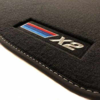Alfombrillas BMW X2 velour