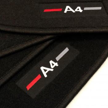 Alfombrillas Audi A4 B9 Sedan (2015 - 2018) a medida logo