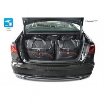Kit de maletas a medida para Audi A6 C7 Sedán (2011 - 2018)