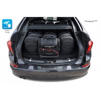 Kit de maletas a medida para BMW Serie 5 F07 Gran Turismo (2009 - 2017)