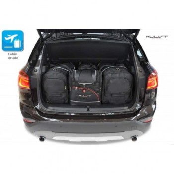 Kit de maletas a medida para BMW X1 F48 Restyling (2019 - actualidad)