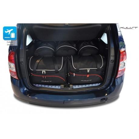 Kit de maletas a medida para Dacia Duster (2010 - 2014)