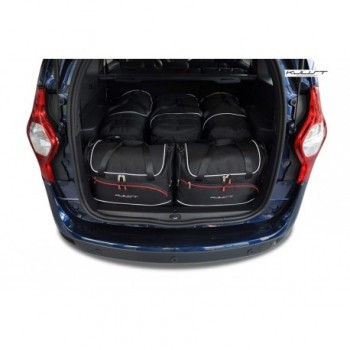 Kit de maletas a medida para Dacia Lodgy 5 plazas (2012 - actualidad)