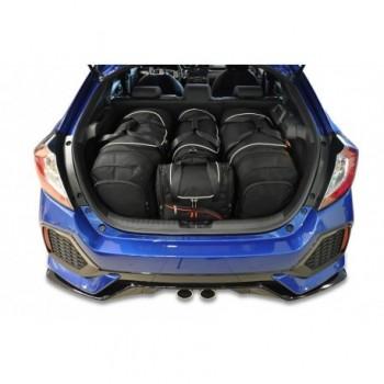 Kit de maletas a medida para Honda Civic (2017 - actualidad)