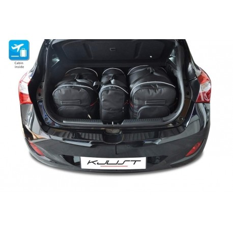 Kit de maletas a medida para Hyundai i30 5 puertas (2012 - 2017)