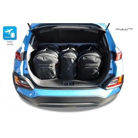 Kit de maletas a medida para Hyundai Kona SUV (2017 - actualidad)