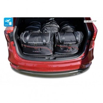 Kit de maletas a medida para Hyundai Santa Fé 5 plazas (2012 - 2018)
