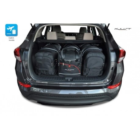 Kit de maletas a medida para Hyundai Tucson (2016 - actualidad)