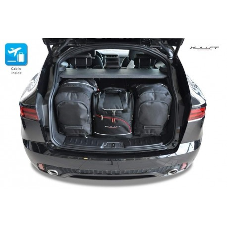 Kit de maletas a medida para Jaguar E-Pace