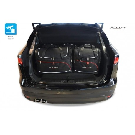Kit de maletas a medida para Jaguar F-Pace