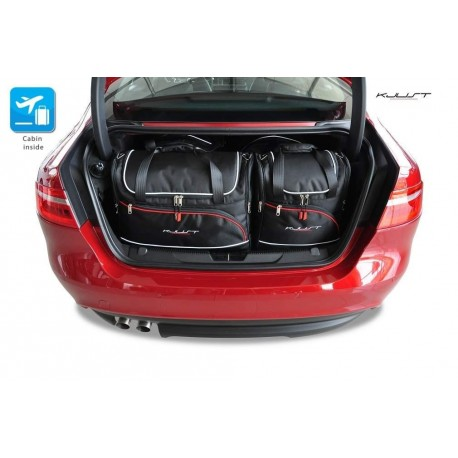 Kit de maletas a medida para Jaguar XE