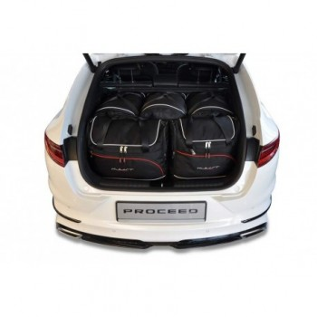 Kit de maletas a medida para Kia Pro Ceed (2019 - actualidad)