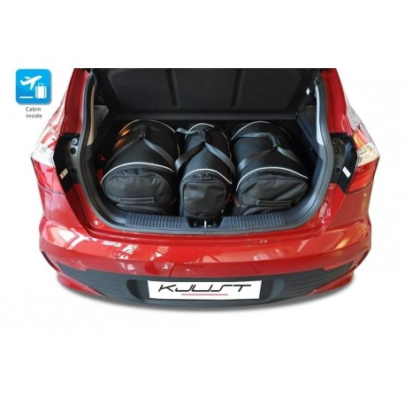 Kit de maletas a medida para Kia Rio (2011 - 2017)