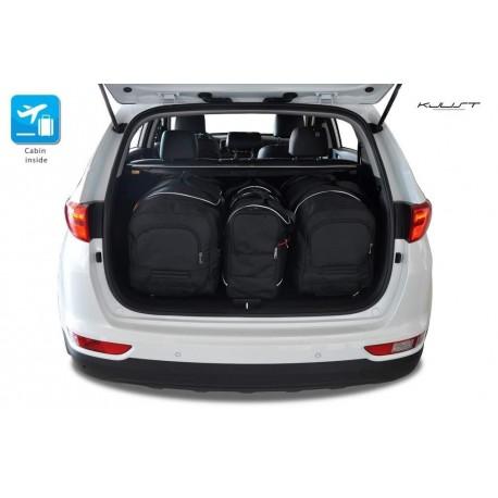 Kit de maletas a medida para Kia Sportage (2016 - actualidad)