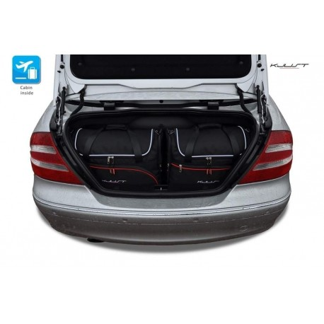 Kit de maletas a medida para Mercedes CLK A209 Cabrio (2003 - 2010)