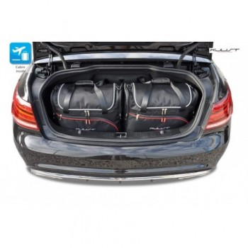 Kit de maletas a medida para Mercedes Clase-E A207 Cabrio (2010 - 2013)
