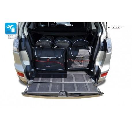 Kit de maletas a medida para Mitsubishi Outlander 5 plazas (2007 - 2012)