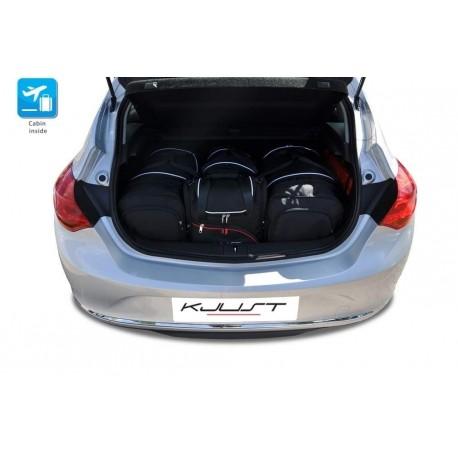 Kit de maletas a medida para Opel Astra J 3 o 5 puertas (2009 - 2015)