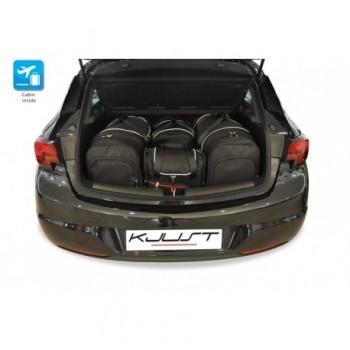 Kit de maletas a medida para Opel Astra K 3 o 5 puertas (2015 - actualidad)