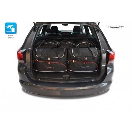 Kit de maletas a medida para Opel Astra K Sports Tourer (2015 - actualidad)