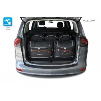 Kit de maletas a medida para Opel Zafira C (2012 - 2018)
