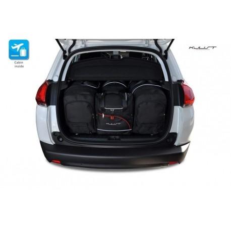 Kit de maletas a medida para Peugeot 2008 (2013 - 2016)