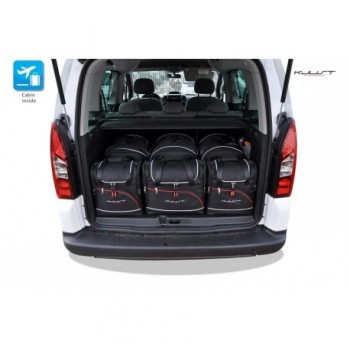 Kit de maletas a medida para Peugeot Partner (2008 - 2018)