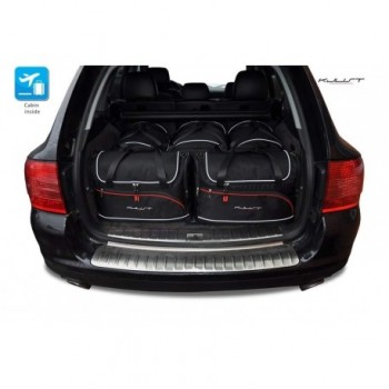 Kit de maletas a medida para Porsche Cayenne 9PA Restyling (2007 - 2010)
